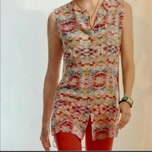 CAbi Aztec Sleeveless Tunic